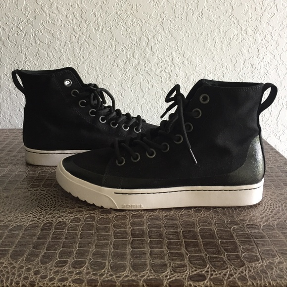 sorel campsneak black